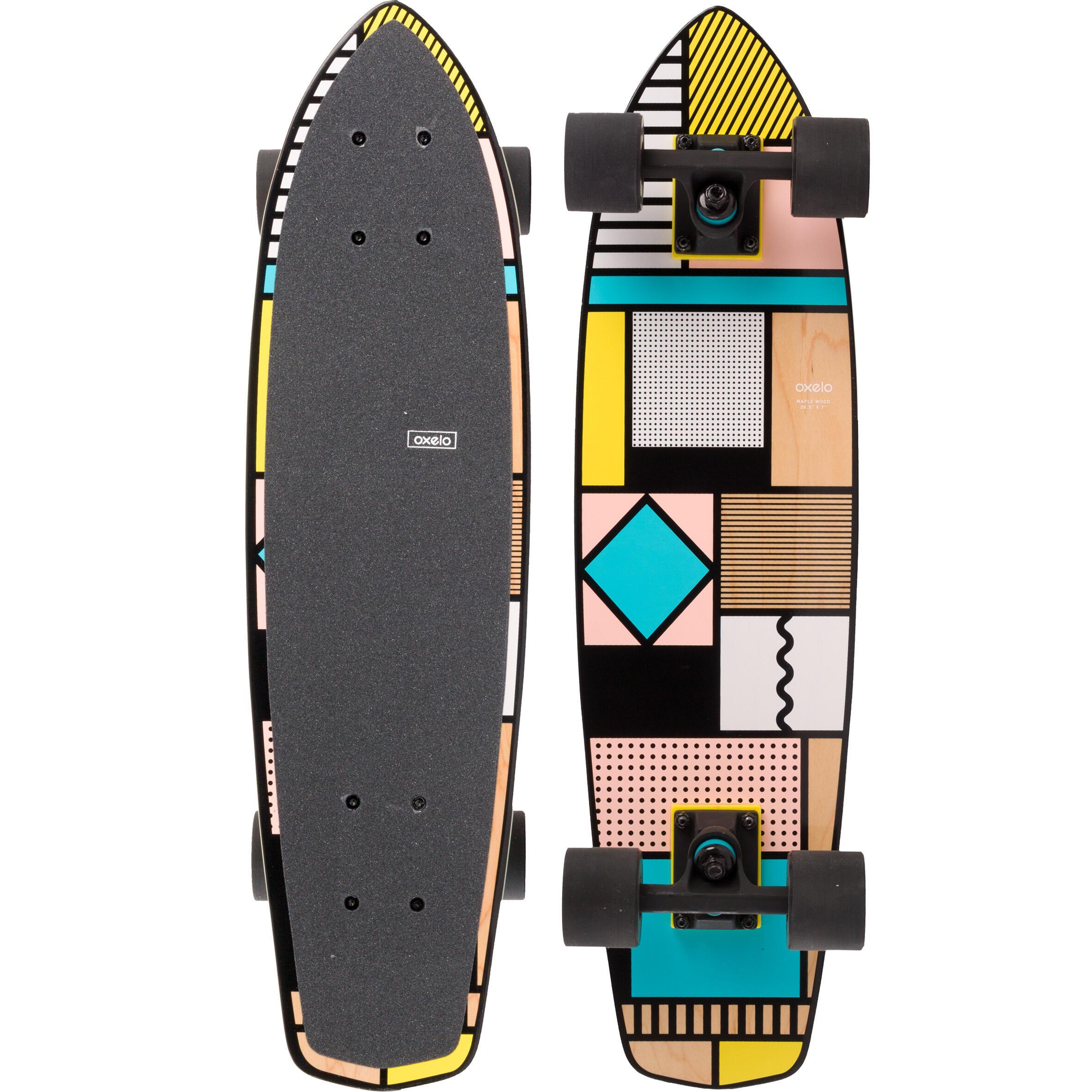 Yamba Wooden Cruiser Skateboard - Square