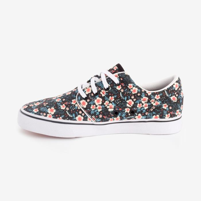 Chaussures basses skateboard-longboard adulte VULCA CANVAS L allover pois - 1290983