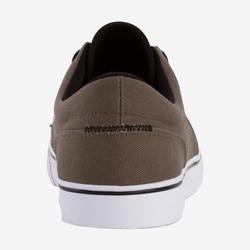 Vulca 100 Adult Skateboarding Longboarding Low-Top Shoes - Dark Khaki