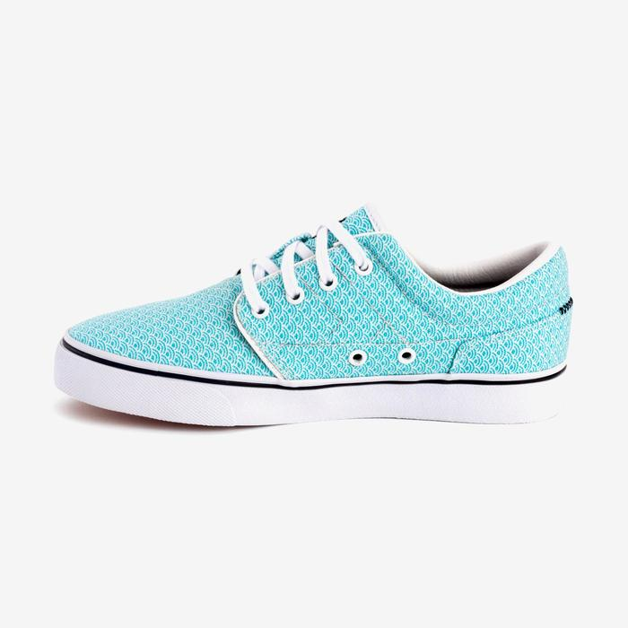 Chaussures basses skateboard-longboard adulte VULCA CANVAS L allover pois - 1291046