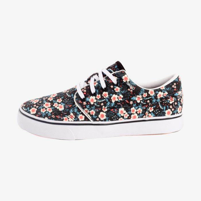 Chaussures basses skateboard-longboard adulte VULCA CANVAS L allover pois - 1291072