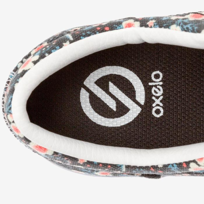 Chaussures basses skateboard-longboard adulte VULCA CANVAS L allover pois - 1291088