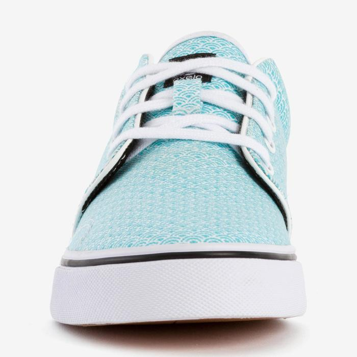 Chaussures basses skateboard-longboard adulte VULCA CANVAS L allover pois - 1291112
