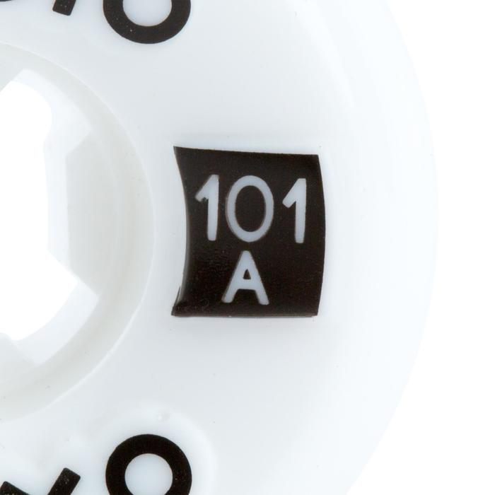 4 ROUES DE SKATEBOARD DE 54mm101A