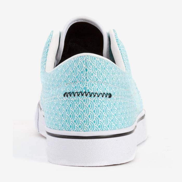 Chaussures basses skateboard-longboard adulte VULCA CANVAS L allover pois - 1291130