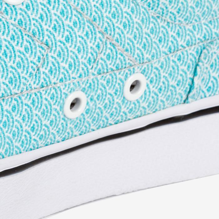 Lage skateboard/longboardschoenen voor dames Vulca 100 Japan