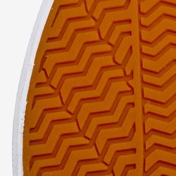 Lage skateschoenen voor volwassenen Vulca 100 canvas donkerkaki