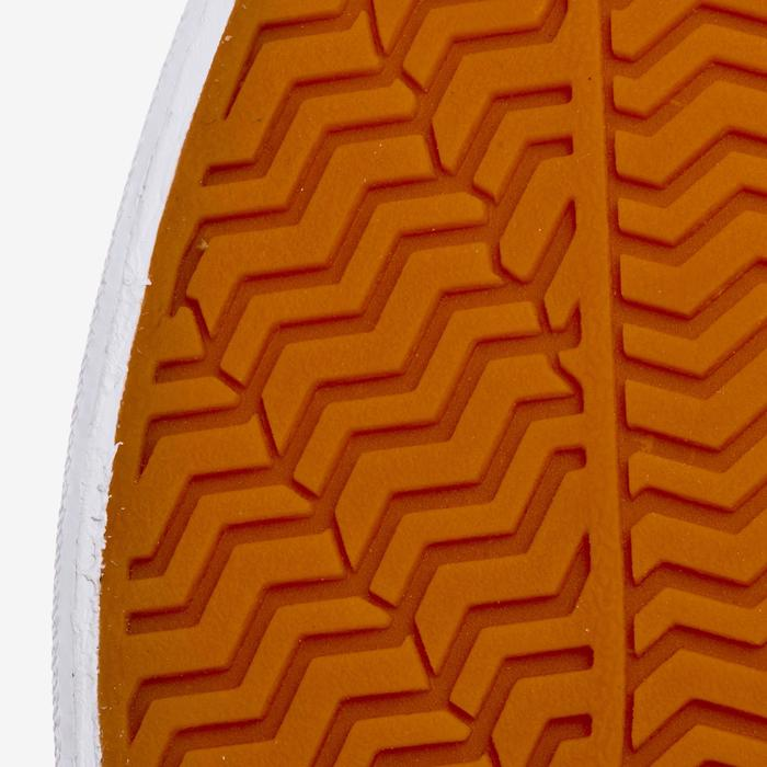 Skateschuh Sneaker Vulca 100 M Low Skateboard Longboard Erwachsene dunkelkhaki
