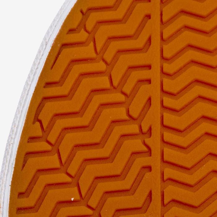 Lage skateboard/longboardschoenen volwassenen Vulca 100 H kaki/grijs