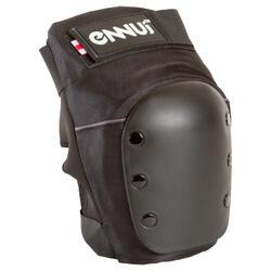 Kniebeschermers Ennui voor volwassenen, voor skates, skateboard, step zwart
