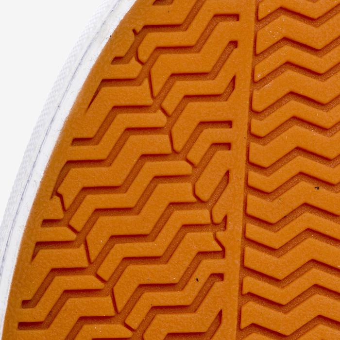 Chaussures basses skateboard-longboard adulte VULCA CANVAS L allover pois - 1291336