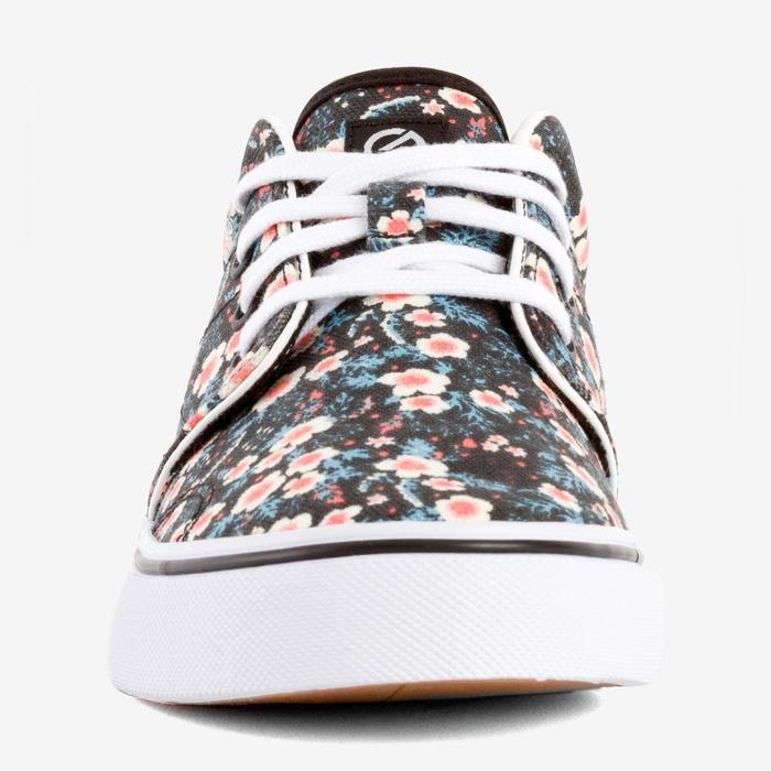 Chaussures basses skateboard-longboard adulte VULCA CANVAS L allover pois - 1291347
