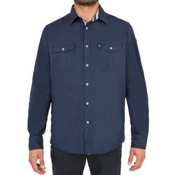 Chemise bateau 100 homme bleu foncé