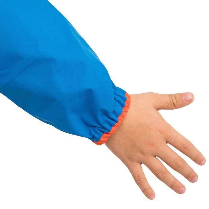 Windbestendige spraytop kinderen Zeilen Dinghy 100 elektrisch blauw