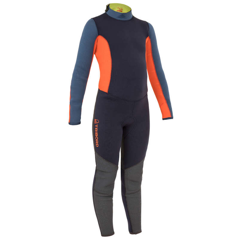 DINGHY THERMAL CLOTHES & ACCESSORIES Żeglarstwo - Kombinezon 500 3/2 mm JR TRIBORD - Odzież żeglarska