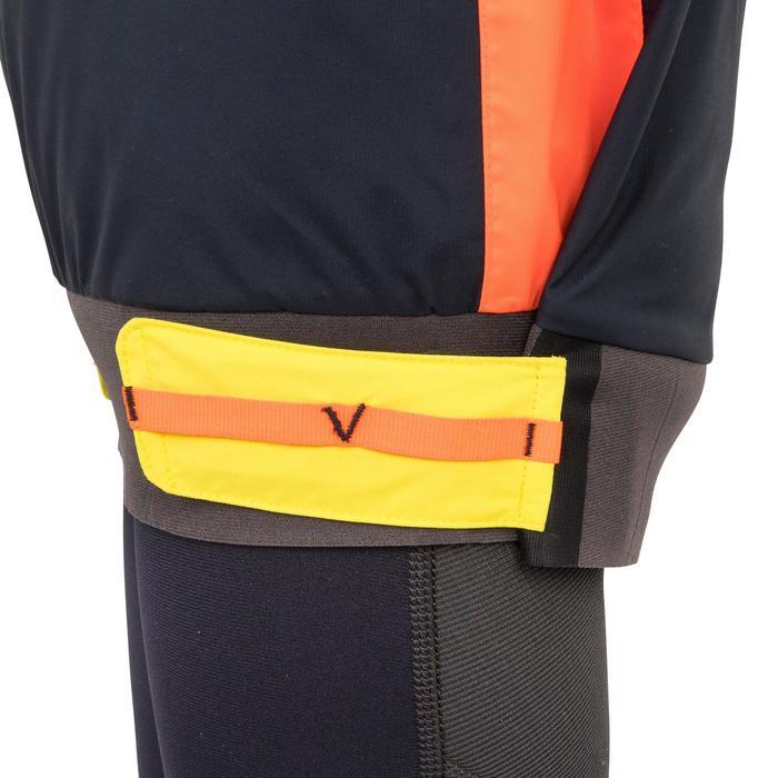 Winddichte spraytop S500 zwaardboot/catamaran voor kinderen, oranje