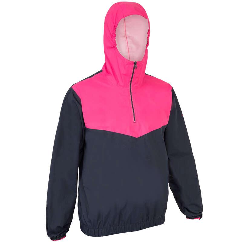 Abbigliamento deriva catamarano Sport Acquatici - Giacca spraytop 100 blu-rosa TRIBORD - Vela