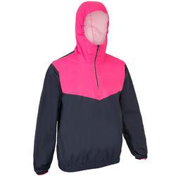 Spraytop voor sportzeilen volwassenen S100 donkerblauw/roze