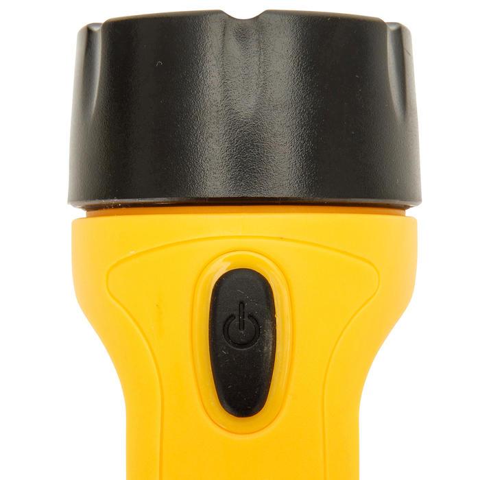 Waterdichte 2-in-1 zaklamp voor boot geel - 1291454