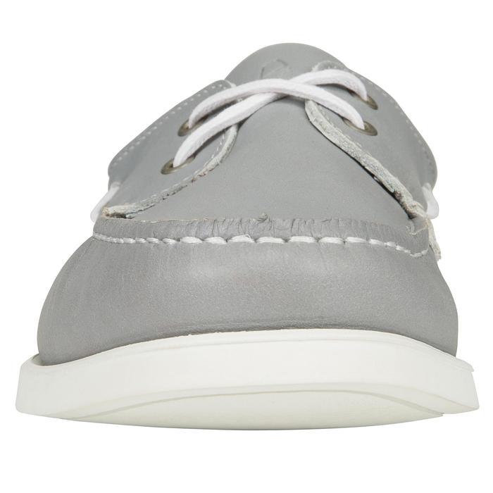 Chaussures bateau cuir homme CR500 - 1291463