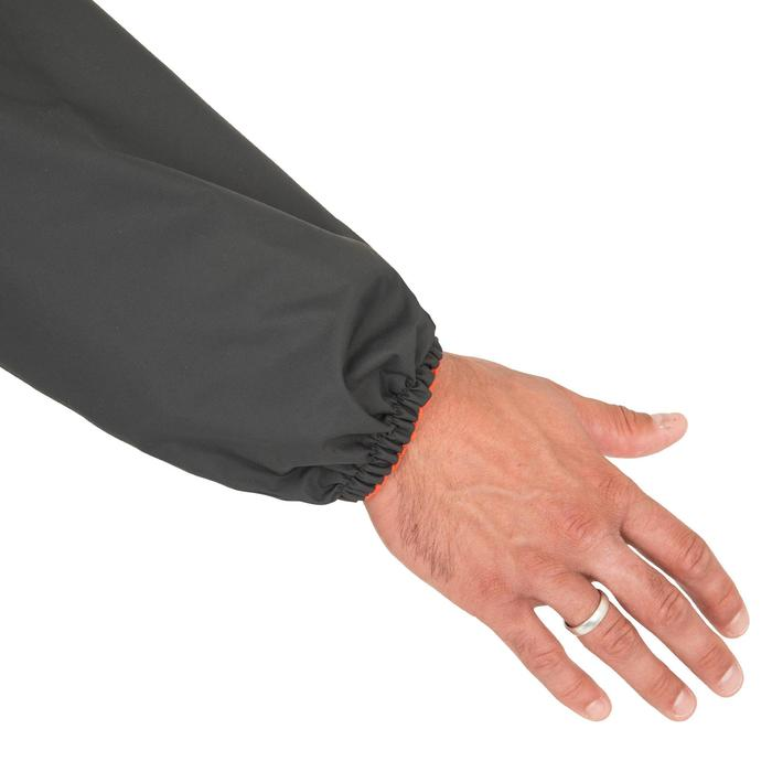 Vareuse coupe-vent Voile Adulte Dinghy 100 gris foncé/gris clair