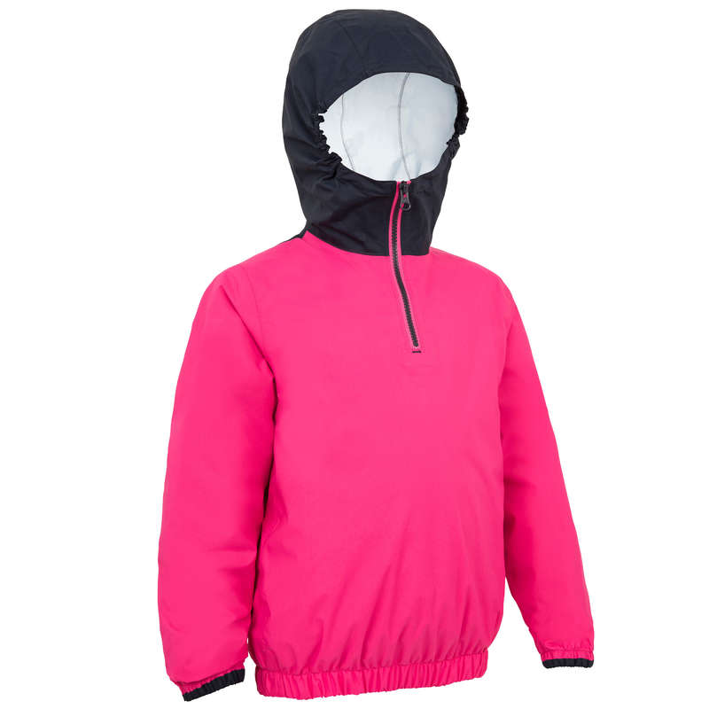 JUNIOR DINGHY EQUIPMENT Dinghy Sailing - 100 Kids' Smock - Blue/Pink TRIBORD - Dinghy Sailing
