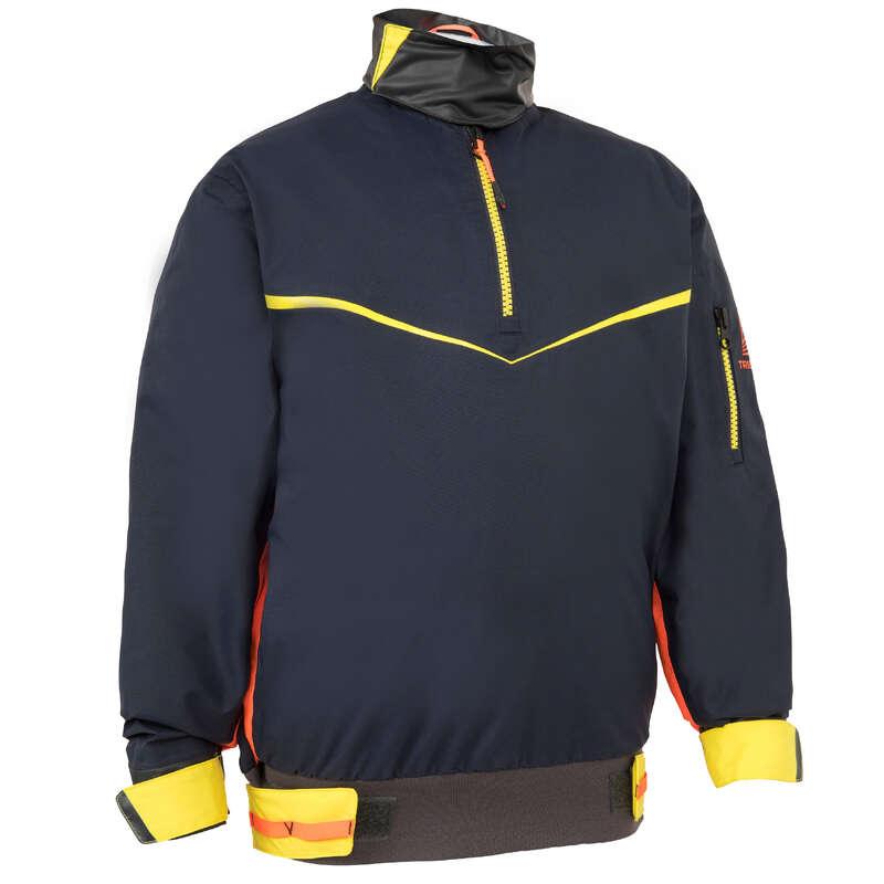 ABBIGLIAMENTO TERMICO & ACC CATAMARANO Sport Acquatici - Giacca cerata spraytop 500 blu TRIBORD - Vela