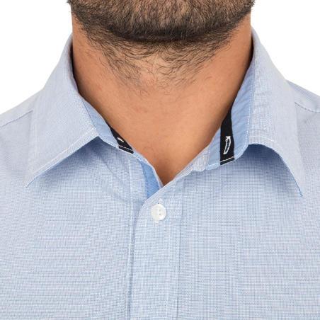Camisa Marinera Sailing 100 Hombre Azul