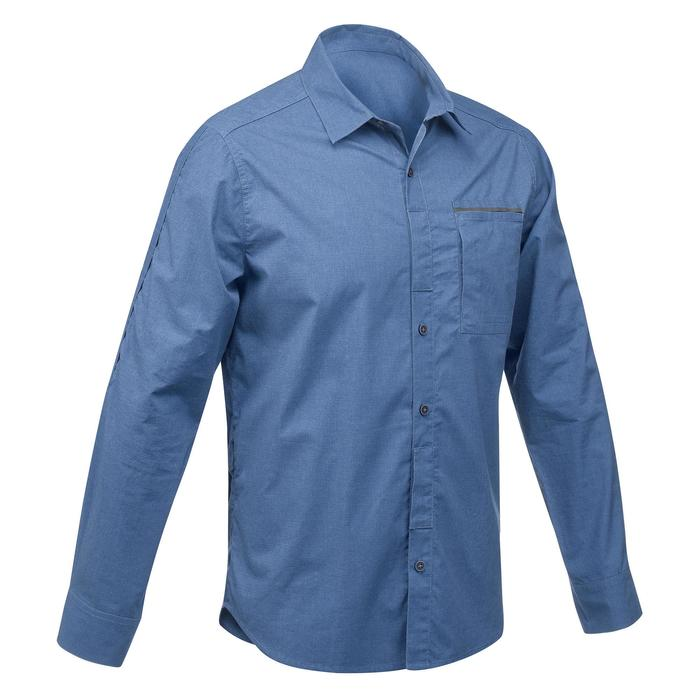 Chemise manches longues TRAVEL 500 MODUL Homme - 1291537