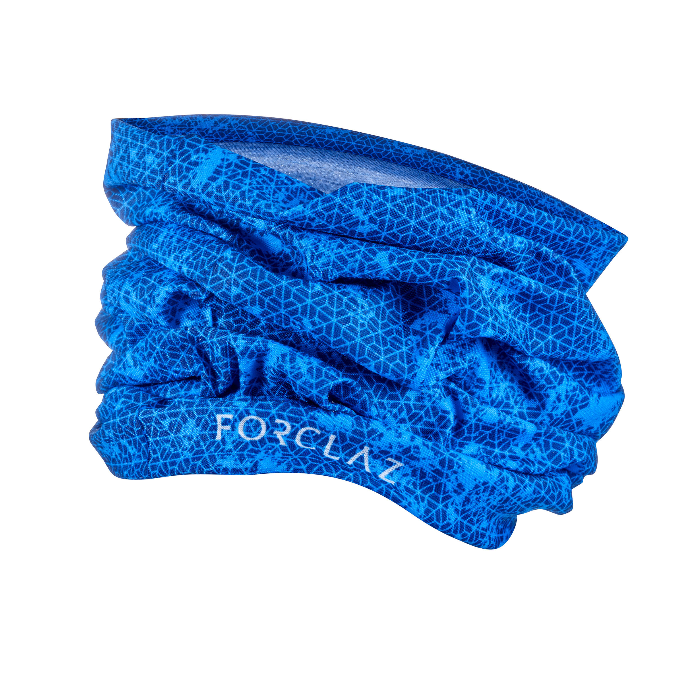 Multi-position hiking headband 500 blue