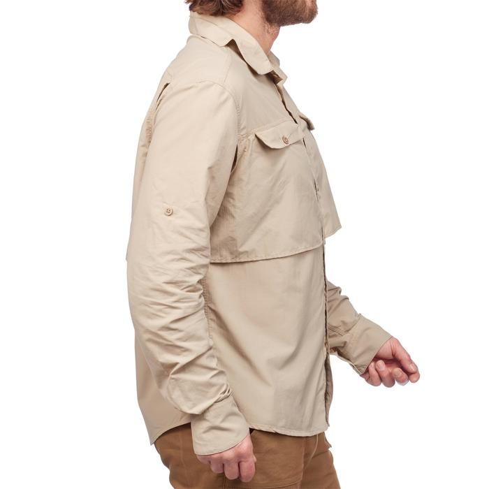 Chemise manches longues de Trekking désert DESERT 500 homme beige - 1291587