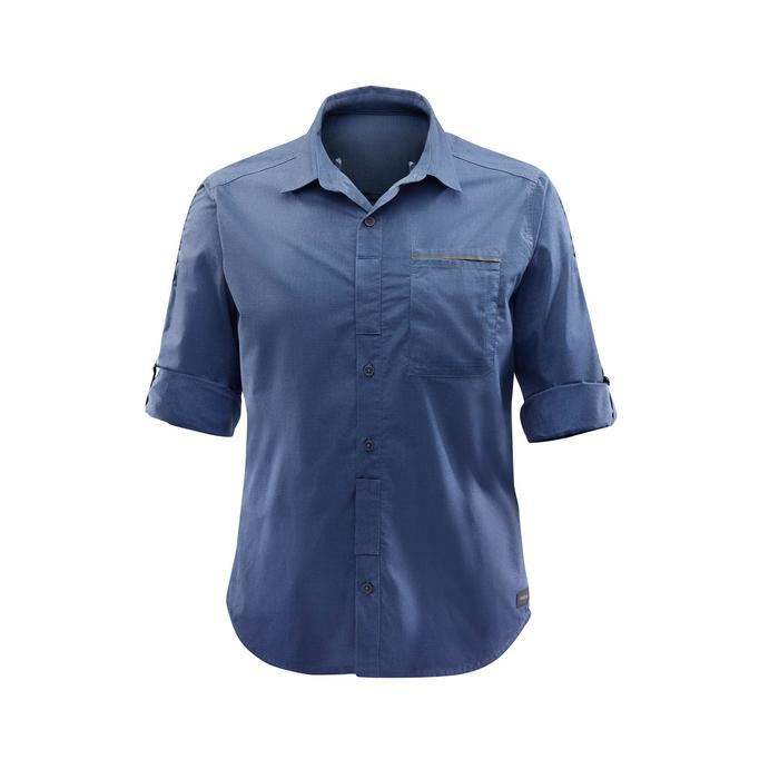 Chemise manches longues TRAVEL 500 MODUL Homme - 1291631