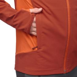 Trekking-Windjacke Trek 900 Herren orange