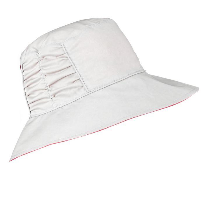 Wanderhut wendbar Trek 500 Damen rosa/beige