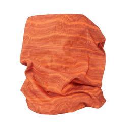 登山健行多功能頭巾TREK 100-橘色