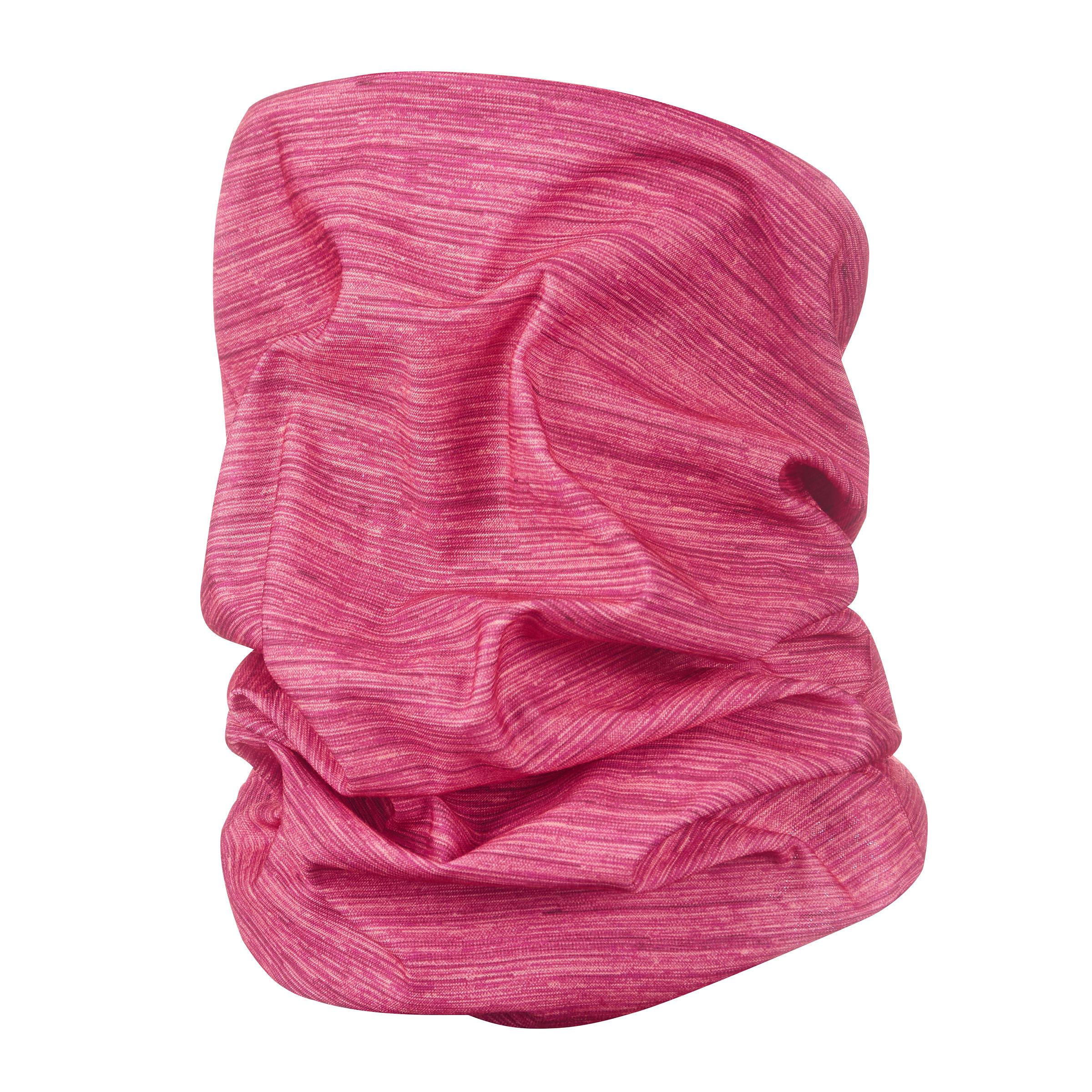 Bandeau de randonnée 500 multi position rose