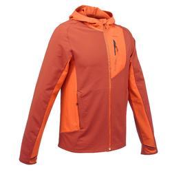 Trekking-Windjacke Trek 900 Herren orange