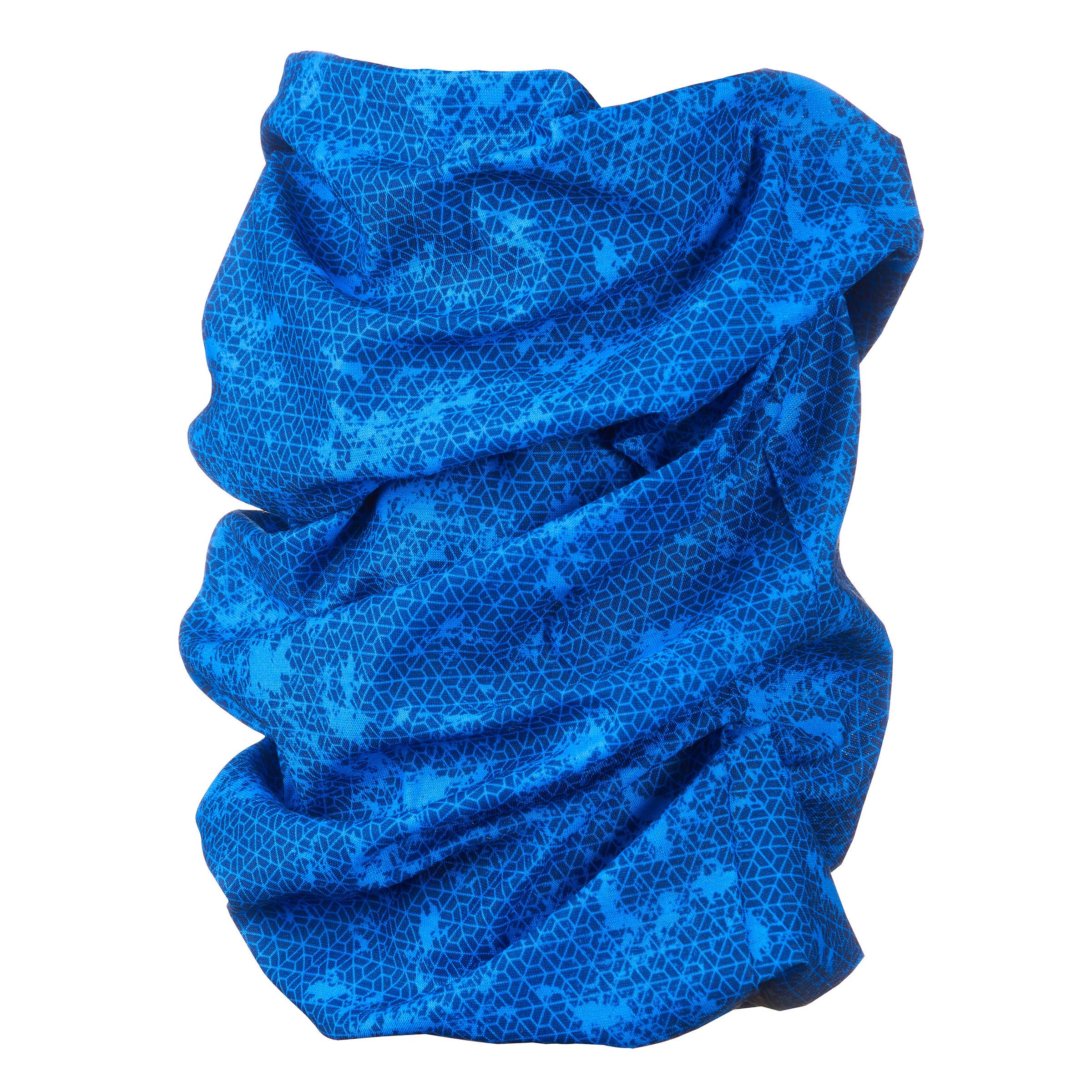 Multi-position hiking headband 500 blue