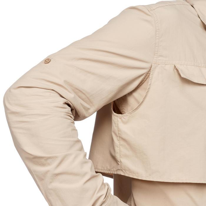 Chemise manches longues de Trekking désert DESERT 500 homme beige - 1291736