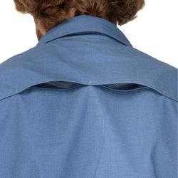 Hemd langarm Travel 500 Modul Herren blau