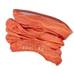 Veelzijdige hoofdband voor bergtochten Trek 500 oranje