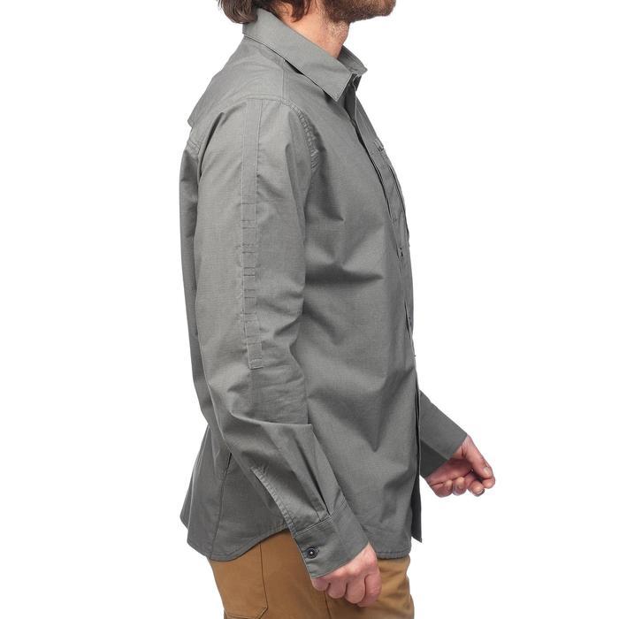 Hemd langarm Travel 500 Modul Herren khaki