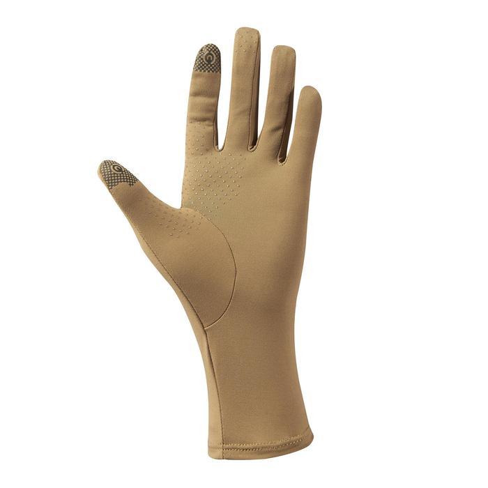 Uv-werende handschoenen voor woestijntrekking Desert 500 bruin