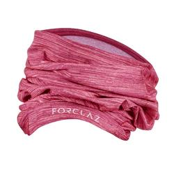 Mountain Trekking headband TREK 500 multi position pink