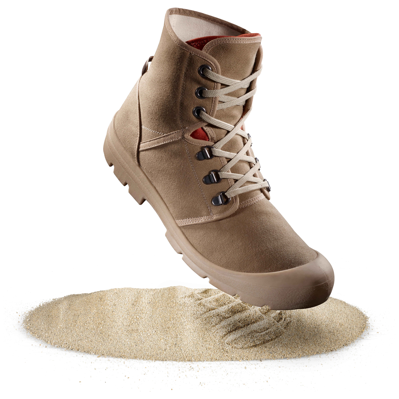 Trekkingschuhe Desert 500 braun | Schuhe > Outdoorschuhe > Trekkingschuhe | Forclaz