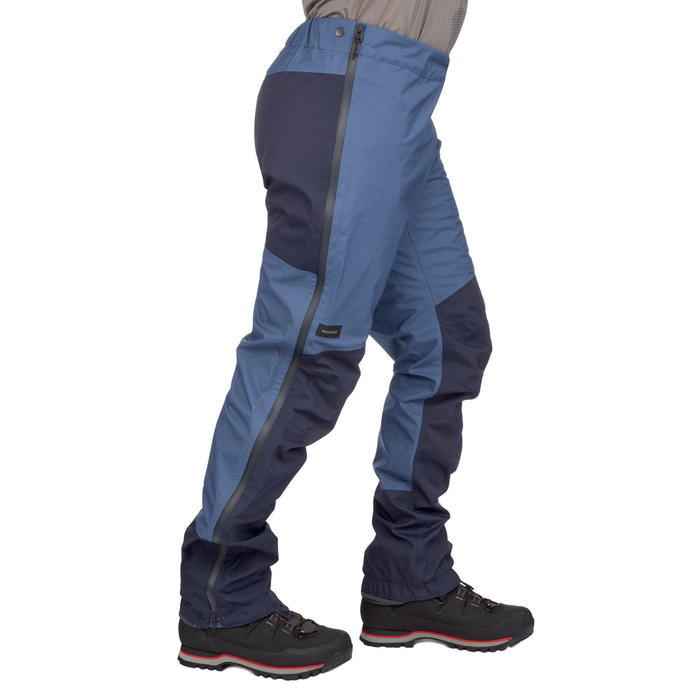 Überziehhose Trek 500 wasserdicht Herren blau
