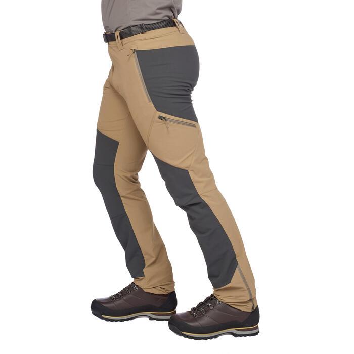 Pantalon trekking montagne TREK 900 homme gris foncé - 1291846