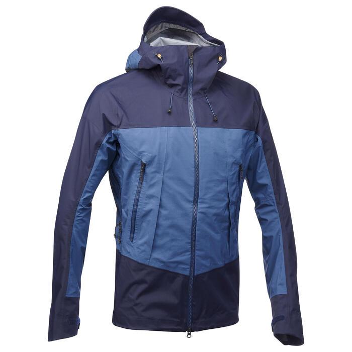 Veste TREKKING montagne TREK 500 homme bleu - 1291851