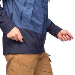 Trekkingjacke Trek 500 wasserdicht Herren blau