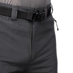 Men's Dark Gray Mountain Trekking Shorts TREK500